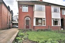 3 bedroom semi detached home in Earls Road...