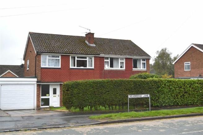 3 bedroom semi detached house for sale in seabridge lane clayton newcastle staffordshire st5