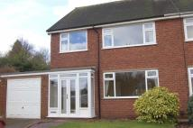 Rugby Close semi detached property to rent