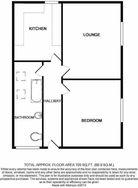 Floorplan Of 8b Bedw