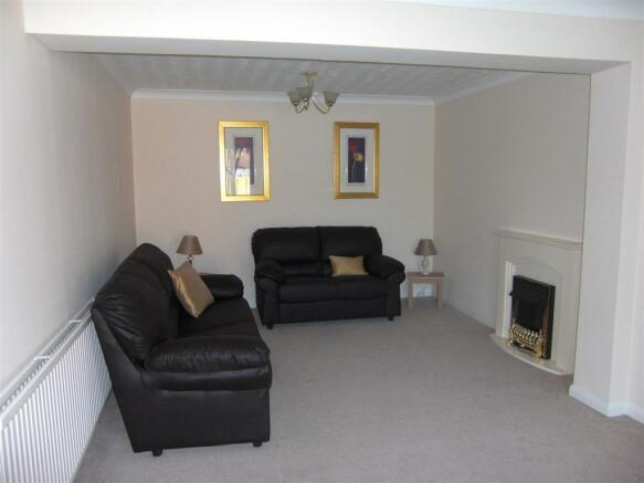 Living room - rear
