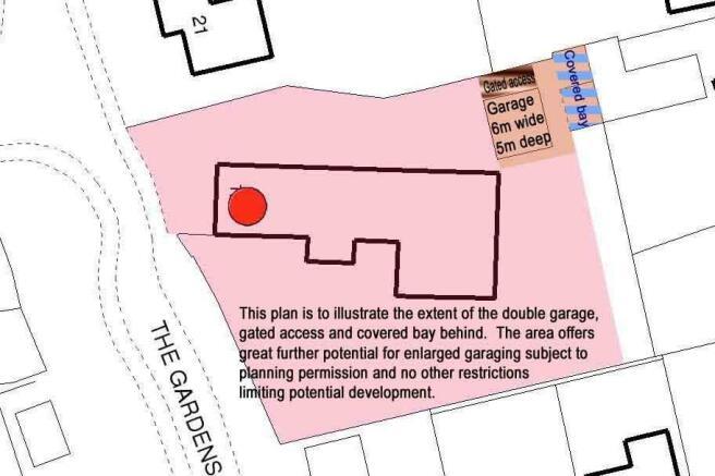 Location plan garage