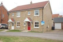 3 bed semi detached house in Blenheim Close, West Row...