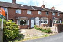 Terraced house in Pitt Street, Stafford