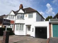 3 bedroom semi detached home in Moor Green Lane, Moseley...