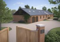new development in The Comp, Eaton Bray...