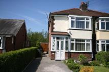 3 bedroom semi detached home for sale in Chapel Lane, BURSCOUGH...