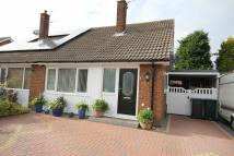 semi detached property for sale in Ellerbrook Drive...