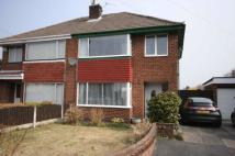 3 bed semi detached house in Willow Crescent...