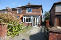 semi detached home for sale in Calder Avenue, ORMSKIRK...