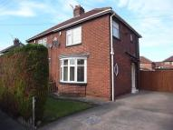 2 bed semi detached property in Grange Road, Norton...
