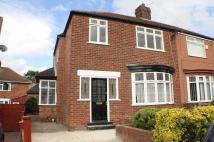 3 bed semi detached house in Malling Road, Norton...
