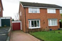 semi detached property for sale in Pen Y Bryn, Hope