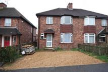 3 bed semi detached home in Orchard Road, Horsham