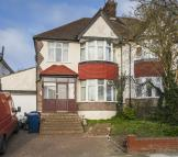 semi detached house to rent in ST MARYS CRESCENT HENDON