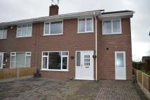 semi detached property for sale in Elm Drive...