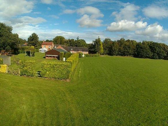 garden and paddock