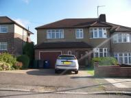 semi detached house in Alverstone Avenue...