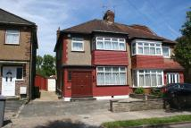 3 bedroom semi detached property in Grasmere Avenue...