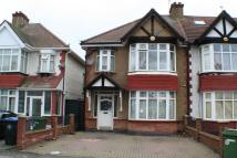 3 bed semi detached house in Rosslyn Crescent...