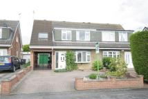 4 bed semi detached home in All Hallowes Drive...