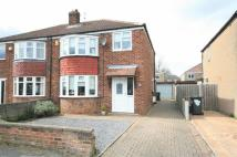 3 bedroom semi detached house for sale in Robin Hood Crescent...