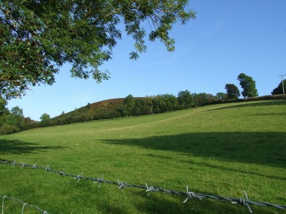 Adjoing farmland