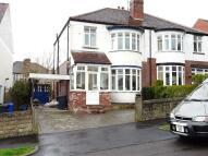 3 bedroom semi detached property in 27 Whirlow Court Road...