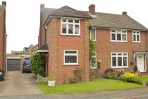 semi detached house for sale in Fullerton Road, Byfleet...
