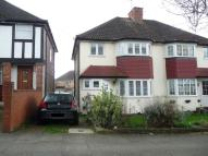 semi detached house to rent in Oakington Manor Drive...