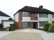 semi detached home to rent in Vernon Drive, Stanmore...