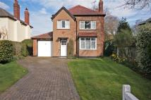 Detached house in Leighton Road, Neston