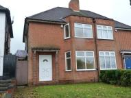 3 bedroom semi detached home for sale in Lewis Road, Stirchley...