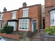 Terraced home in Park Hill Road, Harborne...