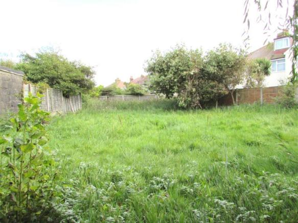 Plot of land to rear