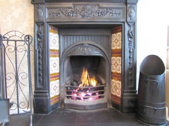 Reception Open Fire
