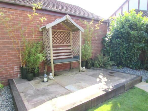 Rear Garden Seating