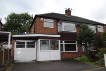 3 bed semi detached property to rent in Almond Tree Road...
