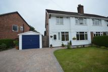 3 bed semi detached home for sale in Hulme Hall Road...