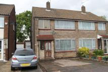 Avondale Crescent semi detached house for sale