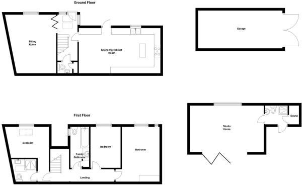 The Barn, Goddington Lane, Harrietsham (Floorplan)