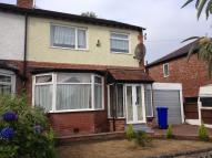 semi detached home to rent in VAUGHAN ROAD, Manchester...