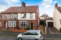 semi detached house in Wykeham Road...