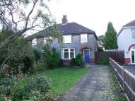 semi detached property in Burton Road, Branston