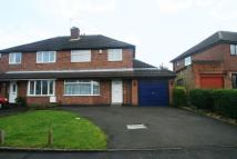 3 bedroom semi detached home for sale in Peterfield Road, Whitwick