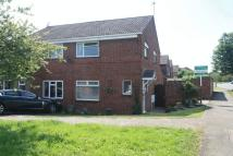 semi detached property in Meadow Road, Barlestone