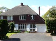 semi detached house in Dower Road Four Oaks...