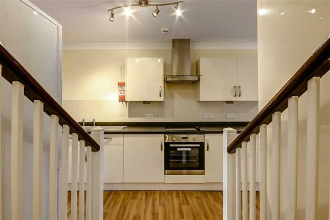 Stairwell to Kitchen