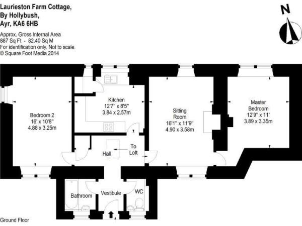 Floorplan Cottage