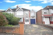 semi detached home in Cranleigh Road...